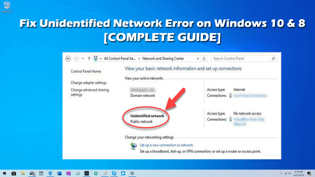 Common Causes of the Unidentified Network error