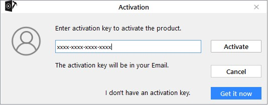 The activation window